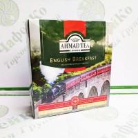 Чай Ахмад English Breakfast Англійський сніданок чорн. 100шт * 2г (6)