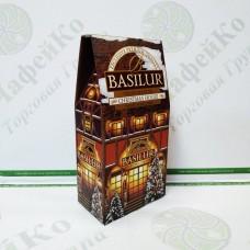 Чай Basilur Різдвяний Будиночок (Будиночки) 100г Картон