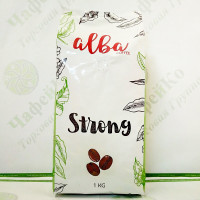 Кава Alba Strong 1кг 80%араб./20% роб. (10)
