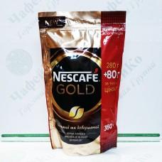 Кофе Nescafe Gold 280г + 80м/у (12)