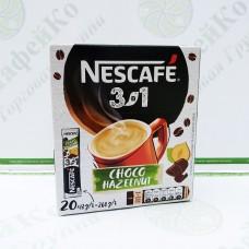 Кава Nescafe 3в1 Choco Hazelnut Mix Чоко Хейзелнат мікс 20*16г (24)