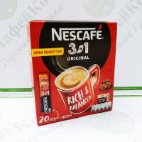 Кава Nescafe 3 в 1 Original Оригінал 20 * 16г (24)