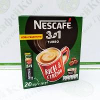 Кава Nescafe 3 в 1 Turbo Турбо 20 * 16г (24)