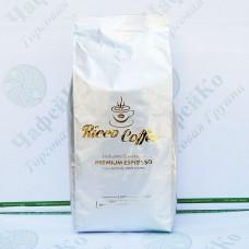 Кофе Ricco Premium Espresso 1кг 15% араб 85% роб (10)