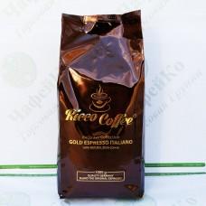 Кава Ricco Gold Espresso Italiano 1 кг 30% араб 70% роб (10)
