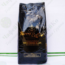 Кофе Ricco Super Aroma Black 1 кг 60% араб ,40% роб (10)