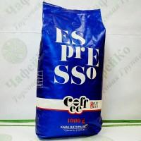 Кава Valeo Rossi Espresso Еспрессо 1кг зерно 50% араб. / 50% роб. (10)