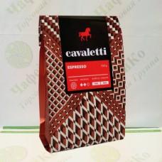 Кофе Cavaletti Espresso Кавалетти Эспрессо 100г 50% араб. 50% роб.мол (20)