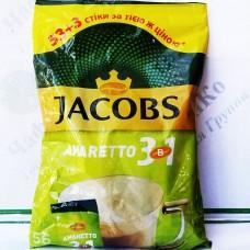 Кава JACOBS 3 в 1 'Amaretto' 53+3шт*14,8 г (8) ХОР