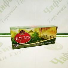 Чай Хэйлис Английский зеленый 2г*25шт. (36)