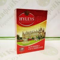 Чай Хейліс Полуниця з вершками чорн. 100г (20)