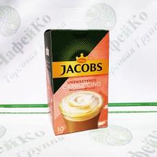 """Кава JACOBS 3 в 1 """"Cappuchino"""" без цукру 10 * 14 г (10)"""