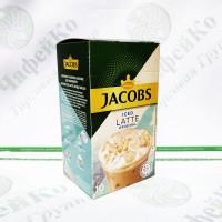 "Кава JACOBS 3 в 1 ""Iced Latte original"" 10*21,5 г  (10)"
