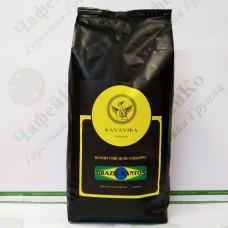 Кава Kavavika Brazil Santos 1кг зерно (6)