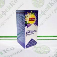 Чай Lipton Energise Earl Grey 25 * 2г чорний, в конверті (24)