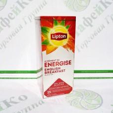 Чай Lipton English Breakfast 25 * 1,8г чорний, в конверті (24)
