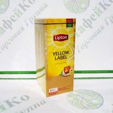 Чай Lipton Yellow Label 25 * 1,8г чорний, в конверті (32)