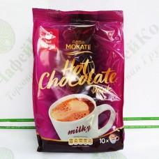 Шоколад Mokate Caffetteria Milk Chocolate, молочний шоколад і магній, 18г*10шт. (12)