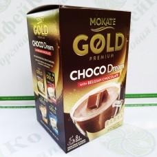 Шоколад Mokate Gold Premium Choco Dream, бельгійський шоколад, 25г*8шт. (9)