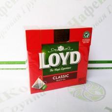 Чай в пакетиках пірамідках LOYD Classic, 2г*20шт. (20)