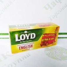 Чай LOYD чорний Англійський сніданок 1,75 г*20шт. (14)