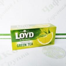 Чай LOYD зелений Лимон 1,5 г*20шт. (14)