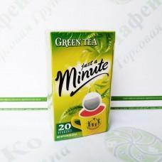 Чай в пакетиках Just a Minute, зелений, 1,4 г*20 шт. (10)