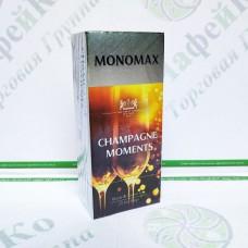 Чай Мономах Champagne Moment Момент шампанського 25*1,5г чорн.+зел. (18)