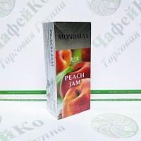 Чай Мономах Peach Coral Персиковий Джем 25*1,5 г чорний (18)