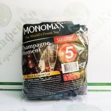 Чай Мономах Champagne Moment Момент шампанского 50*1,5г черный+зеленый (9)