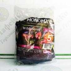 Чай Мономах Wild Berry Лісова ягода 50*1,5 г чорний (9)