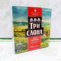 Чай Три слона чорний 100*2г с / н (16)