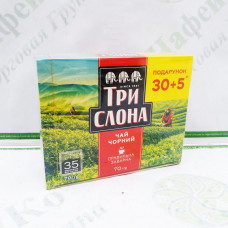 Чай Три слона чорний 35*2г с / н (16)