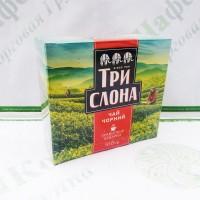 Чай Три слона чорний 100г (16)
