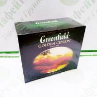 Чай Greenfield Golden CEYLON 2г*50 (12)