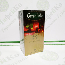 Tea Greenfield Grand black fruit with pomegranate 25 * 1.5 g (10)