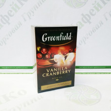 Чай Greenfield Vanilla Cranberry 100г