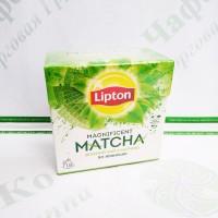 Чай Lipton Magnificent Matcha 18*1,5 г зелений пірамідки (24)