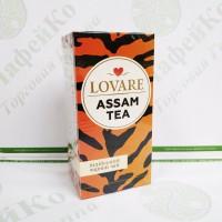 Чай Lovare Ассам індійський 24*2г чорний (18)