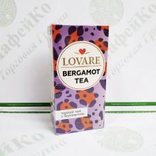 Чай Lovare Бергамот 24*2г чорний (18)