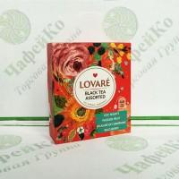 Чай Lovare Набір Чорний асорті 4 * 8 по 2г (7)