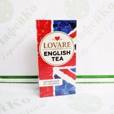 Чай Lovare Англійський сніданок 24*2г чорний (18)