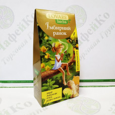 Tea Lovare Ginger morning 20*1.8 g herbal pyramid(18)
