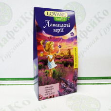 Чай Lovare Лавандовые мечты 20*1,8 г травяной, пирамидки(18)