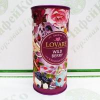 Чай Lovare Дика ягода 80г чорний з ягодами (10)