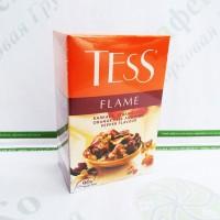 Чай TESS Flame гібіскус і рожевий перець чорний 90г (15)