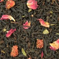 Чай Суниця з вершками чорний з добавками 0,5кг