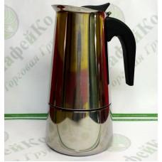 Кофеварка гейзерная Unique UN-1903 (kpss-9) нержавейка