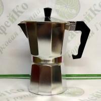 Кофеварка гейзерная Unique UN-1912 (kp1-6) алюминий