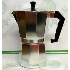 Кофеварка гейзерная Unique UN-1913(kp1-9) алюминий
